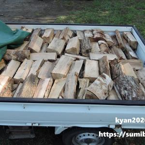 【薪活】大量購入した薪が本当に0.5立米あるか検証してみた