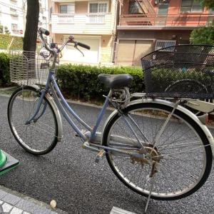 自転車を買い替えて 気分一新しました