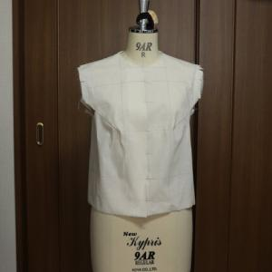 やっと自分の原型ができました 《洋服上衣》