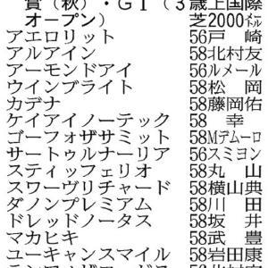 天皇賞(秋)展望!! 豪華メンバーの時は複勝一点買いで勝負!!