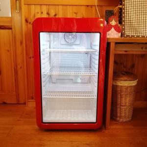 レトロ冷蔵ショーケース届きました