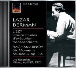 Lazar Berman 1976 ミラノライヴ
