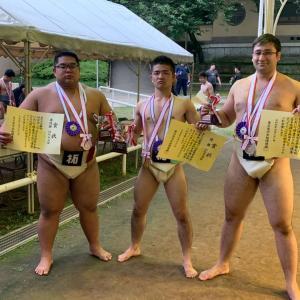 東日本体重別相撲選手権大会結果報告