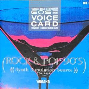 【Vol.42】YAMAHA EOSシリーズ専用ボイスカード&サウンドディスク紹介 ーNEO-1ー