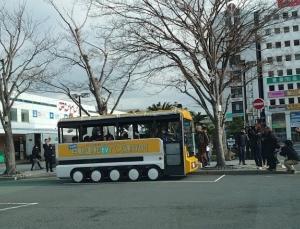 「EVバス自動運転実証実験開始」沼津