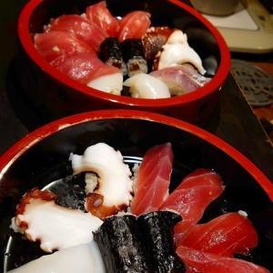「久しぶり握り寿司作りました!」