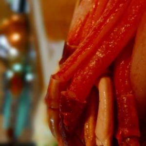 キッチン和み「昨夜は蟹しゃぶ」沼津
