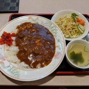 東亜珈琲館 本店さんで日替りランチのチーズカレー(千歳市清水町4)