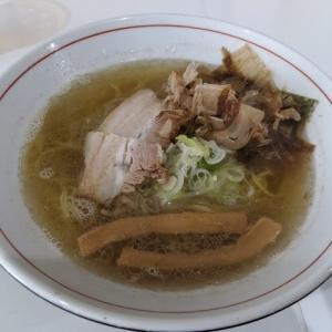 カツオちゃん塩(やさしい、とんこつ 麺 かまくら14:札幌市白石区本通4:2020年96杯目)