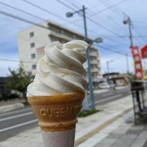 カトル・カールさんでソフトクリーム(旭川市豊岡5条4)