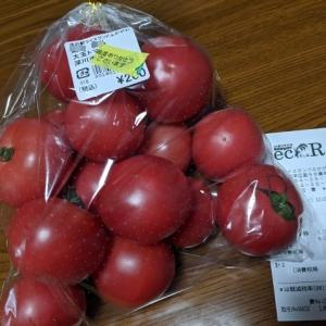 農産物直売所eciR(えしる)さんでトマト購入(道の駅ライスランドふかがわ)
