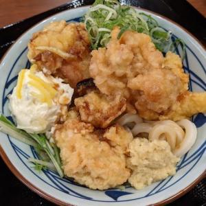 タル鶏天ぶっかけ(丸亀製麺 旭川春光店)