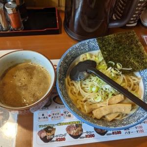 魚介醤油つけ麺400グラム:北海道らーめん 奥原流 久楽 千歳店(2021年53杯目)