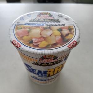 カレー&シーフード(スーパー合体シリーズ:日清カップヌードル)