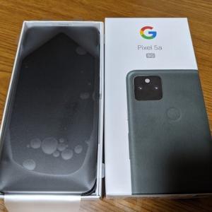 スマホを機種変更(Google Pixel 5a)