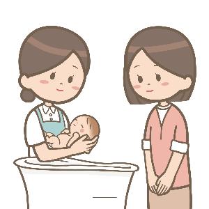産後入院6日目その2・初めての沐浴