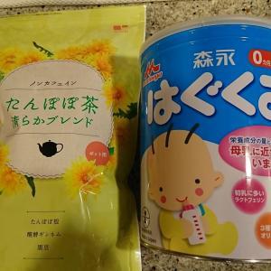 使用感想その9・母乳関係(タンポポ茶)