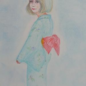 和装の魅力  紙と鉛筆の誘惑③