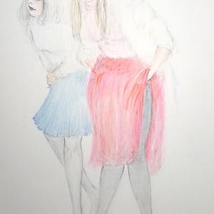 しぐさ「脱衣」  キョウナ&アキミン  (^^; オマケあり