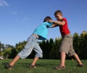 海外「子供には殴られたら殴り返すように教えるべき」