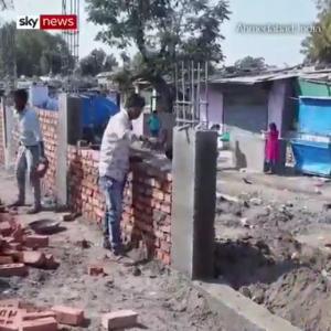 インド「トランプ大統領が来るからスラムに壁を作って貧民が見えないようにしておこう」