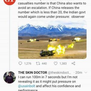海外「中国がインドとの国境紛争で死傷者を公開しなかった理由lol」