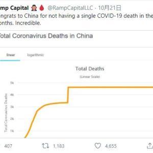 海外「朗報!中国で過去6ヶ月間でコロナウイルスで死亡した人は0人!!」