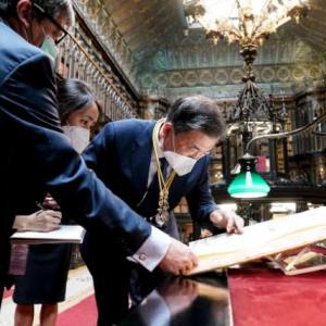 海外「韓国の大統領がスペインの古地図で竹島が韓国領土になっているのを発見し喜んでいるようだw」