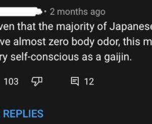 海外「日本人は体臭がしないだって?本気で言っているのか?」