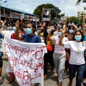 海外「日本がミャンマークーデター政権への制裁に反対。アメリカの戦略を損なう」