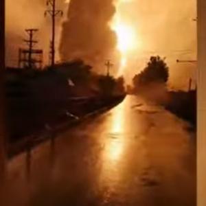 海外「中国のアルミニウム工場が爆発。洪水が原因か」
