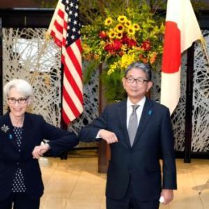 海外「日米が台湾海峡の重要性を確認。中国さんは反中包囲網だと激怒」