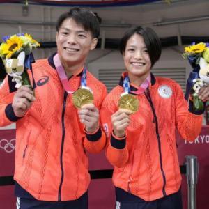 海外「五輪史上初、阿部兄妹が柔道で同日に金メダルを獲得」
