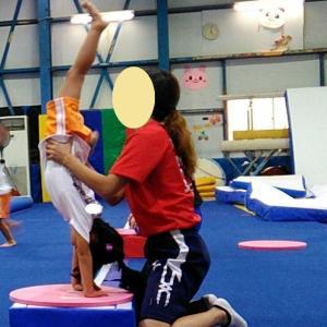 娘の体操教室の再開