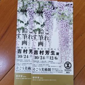奇跡の鉛筆画家吉村芳生展のチケットが当選!