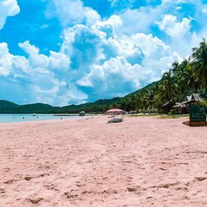 PHILIPPINES: EL NIDO, PALAWAN: NACPAN BEACH