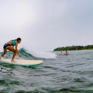 PHILIPPINES: SIARGAO: CLOUD 9, BEST SURFING SPOT WITH ENORMOUS WAVES