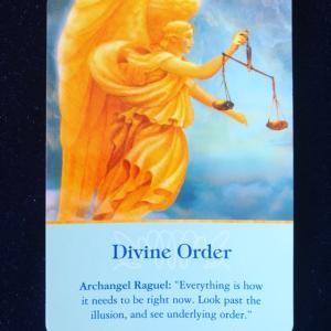 新月会のお知らせ プラス今日イチ・イングリッシュ Divine Order天の導き