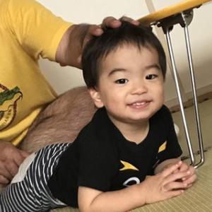 笑顔でゴロン( *´艸`)
