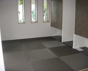 決まったね-ナイスな畳空間( `ー´)ノ健康にも配慮された和紙畳