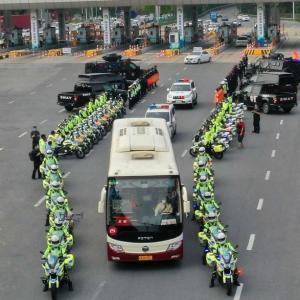 湖北を支援した東莞医療チームの歓迎式