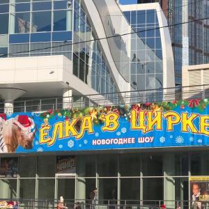 2019年12月ウラジオストク旅行 その6 ウラジオストク国立サーカス、キタイスキー市場、路面電車など。(Vladivostok Circus, Kitai Ski Market, Tram)