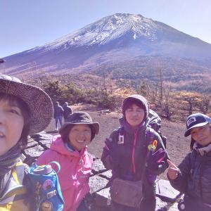 【山梨、富士吉田市】富士山御中道。御庭から奥庭へ。富士山展望の絶好地でした《後編》2019年11月9日(土)