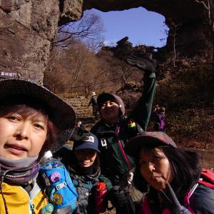【群馬、妙義】妙義山中間道半周で、石門巡り&岩場チャレンジしてきました《前編》2019年11月30日(土)