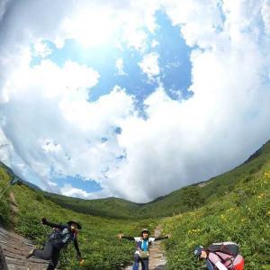 【群馬、野反湖】梅雨の晴れ間に、野反湖外輪山縦走と湖畔歩き《前編》2020年7月19日(日)