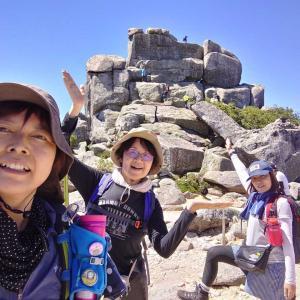 【山梨、牧丘】義姉と大展望の金峰山をハイキング~👍️2020年8月15日(土)