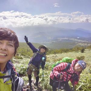 【長野、上田】テンクラAを信じて歩き通した四阿山~根子岳周回ルート。2020年9月6日(日)