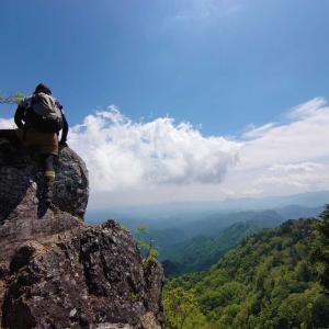 【埼玉、小鹿野町】初めての両神山!累積標高の過去最高記録を塗り替えました👍《後編》2021年5月29日(土)