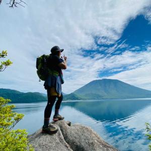 【栃木、奥日光】初めての中禅寺湖一周!《中編》南岸コースを歩く。2021年6月12日(土)