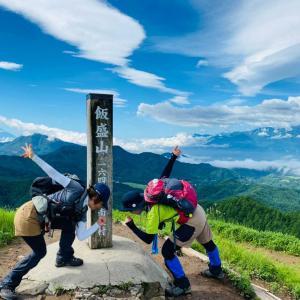 【長野、野辺山】大・大・大展望の分水嶺、飯盛山で梅雨の晴れ間を満喫する《後編》2021年7月10日(土)